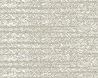 Bristling Delicate Art Gallery Gathered GTH-37501 fabrics Beige white herringbone painterly fabric Bonnie Christie fabric quilting cotton