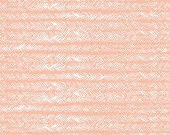 Bristling Balmy Art Gallery Gathered GTH-47501 fabrics Pink white herringbone painterly fabric Bonnie Christie fabric quilting cotton