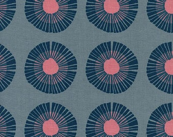 PREORDER August Ship 9014-01 Imagined Landscapes Jen Hewett Seaside Daisy Slate Cotton & Steel fabrics Modern quilting cotton