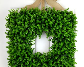 Square Wreaths Etsy