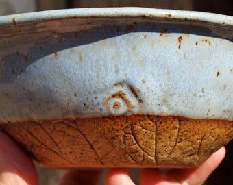 Pottery, Bowl, Serving Bowl, Handmade Bowl, Pottery Bowl,  Serving Dish, Ceramic bowl, Stoneware Bowl, Dinnerware,