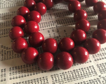 32  16 Pcs 111330 12MM Quartz Beads Coral Pink Color Grade AAA Natural Round Gemstone Loose Beads
