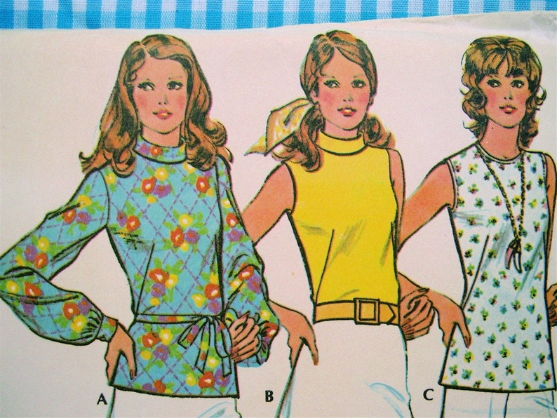 Vintage 1973 McCall's Pattern 3550 Miss Size 12 Sewing image 0