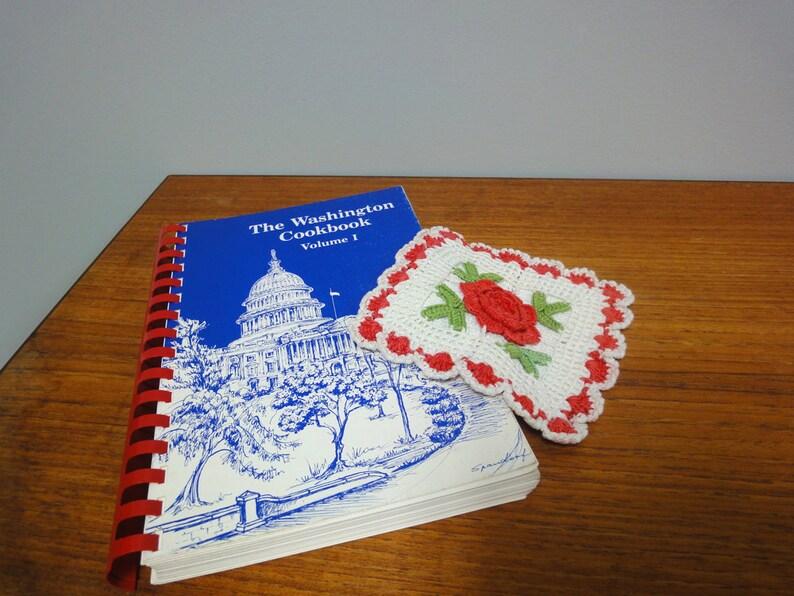The Washington Cookbook Volume 1 1982 Paperback with Vintage image 0