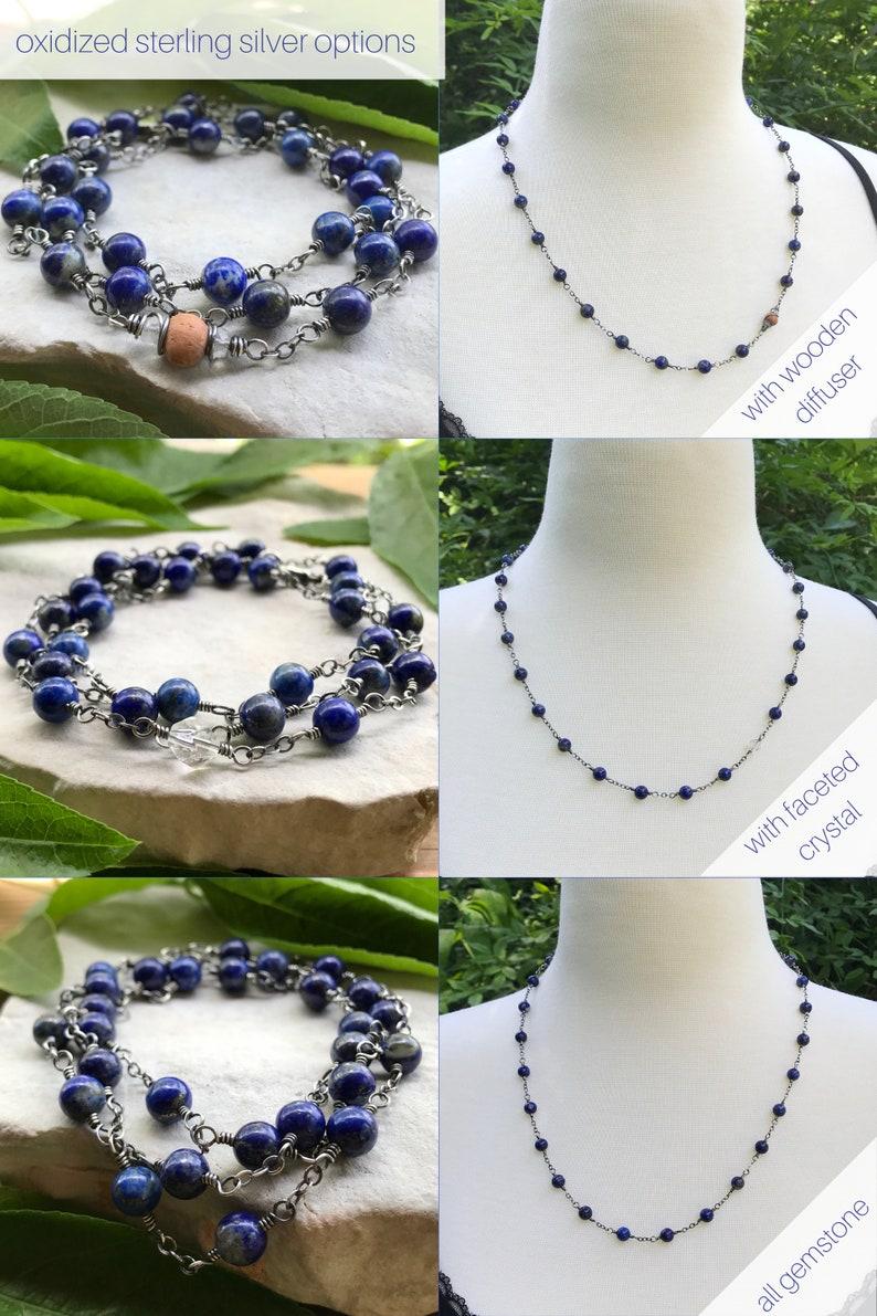 Intention Bracelet January Birthstone Aromatherapy Necklace or Wrap Bracelet Chakra Bracelet Garnet Bracelet