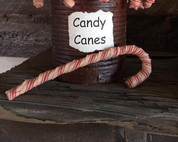 Primitive Candy Canes Set/3