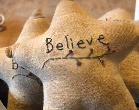 Believe Star Ornie/Bowl Filler