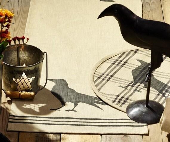 Olde Crow Long Table Runner