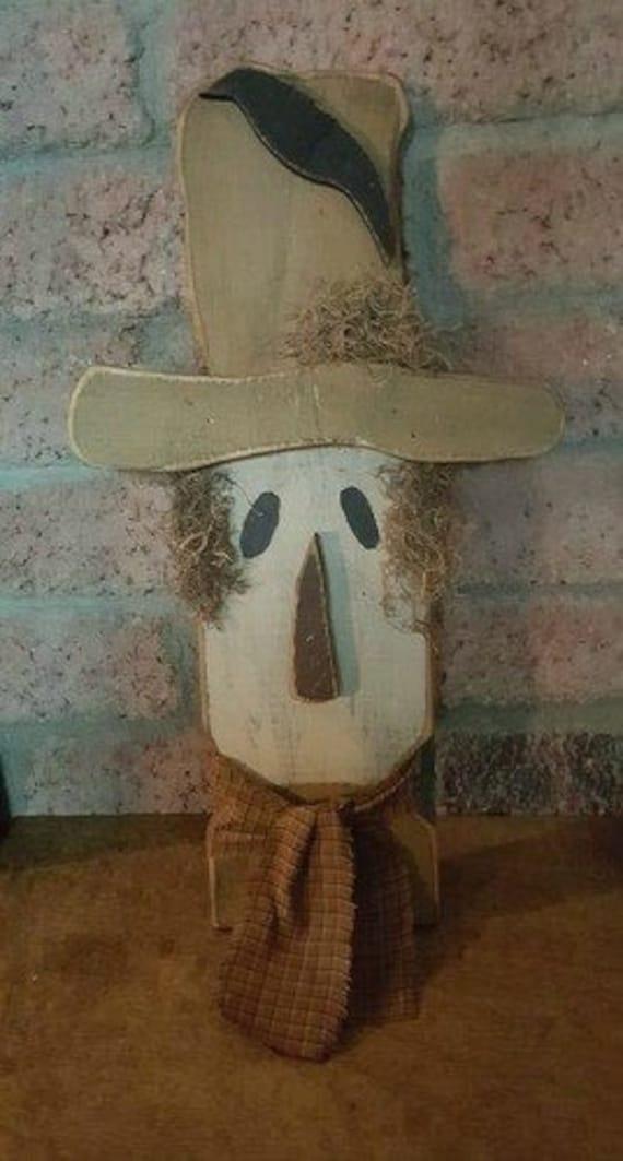 Wood Scarecrow
