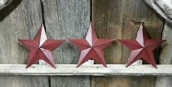 Barn Star Burgundy 3.5in