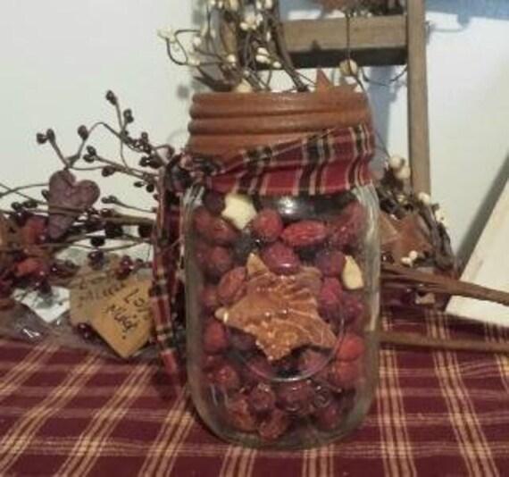 Rosehips n Mixins Jar