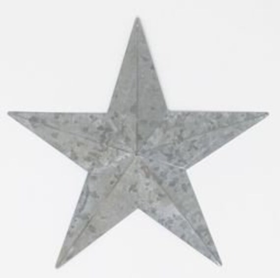 Galvanized Star 18""
