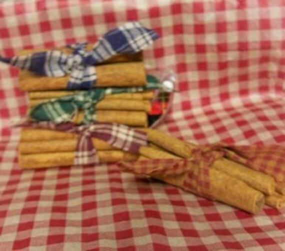 "Set of 3 Prim 3"" Cinnamon stick bundles"