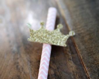 Princess Party Straws