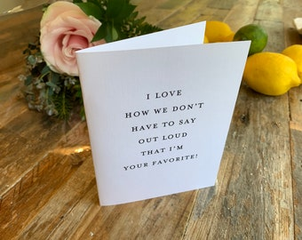 Mother's Day Card- favorite!