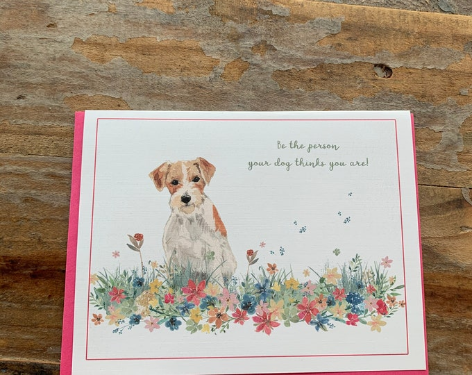 Dog Lover Note Card