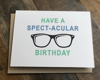"Birthday Card ""spectacular"""