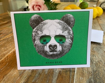 Mama Bear -  Mother's Day Card
