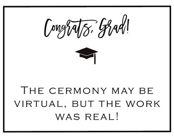 Note Card virtual graduation