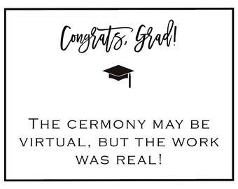 Note Card virtual graduation