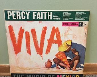 Percy Faith Viva Music of Mexico Record Album NEAR MINT condition