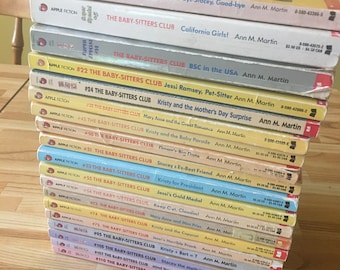 19 Babysitters Club Book Collection