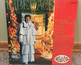 Liberace Twas the Night Before Christmas Record Album NEAR MINT condition