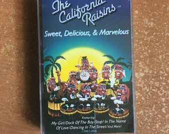 California Raisins Cassette Tape Sweet Delicious Marvelous