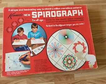 Vintage Kenner Spirograph No. 401 Drawing Art Design Set