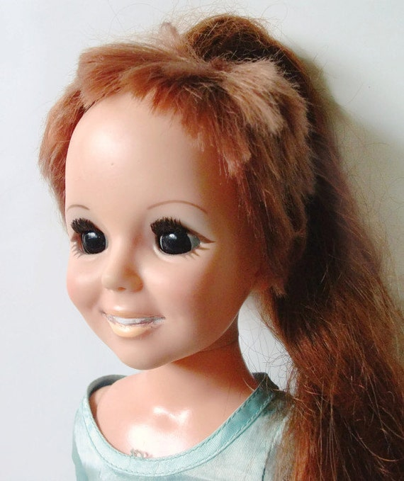 Vintage Crissy Ideal Doll With Growing Hair 1968 Etsy