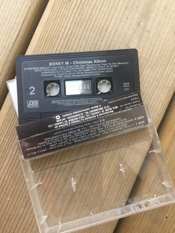 Boney M Christmas Album.Boney M Christmas Album Cassette Tape