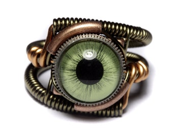 Steampunk Jewelry Steampunk Rings By Catherinetterings On Etsy