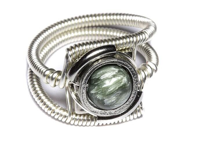Cyberpunk Jewelry  - Ring - Seraphinite