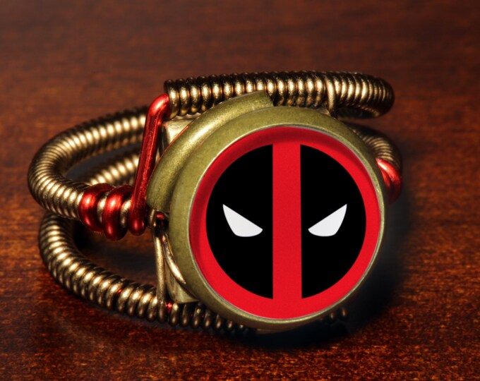 Steampunk Jewelry - Ring - Deadpool