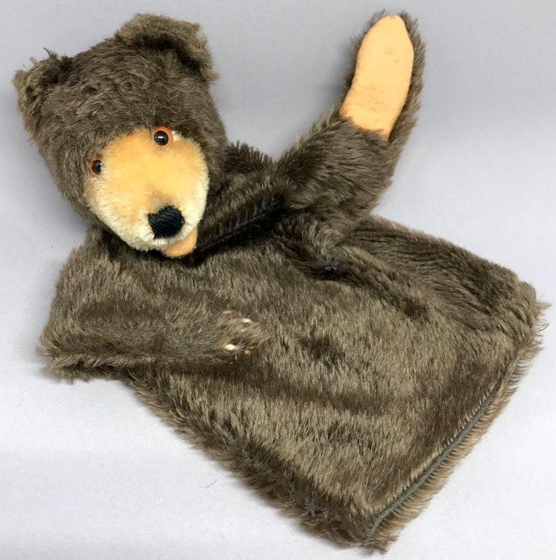 35ff54c31d4 Vintage Steiff Germany Teddy Baby Bear Hand Glove Puppet