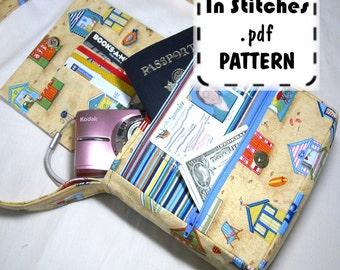 PDF Purse Pattern Small Adventure Bag EASY instructions DIY Purse Tutorial