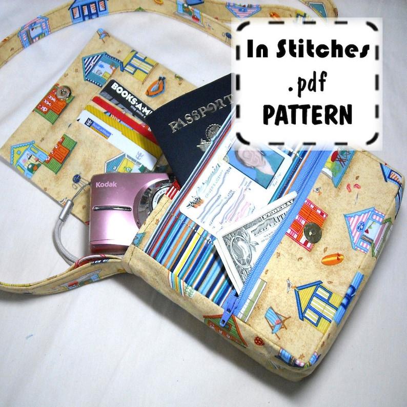 PDF Purse Pattern Small Adventure Bag EASY instructions DIY image 0