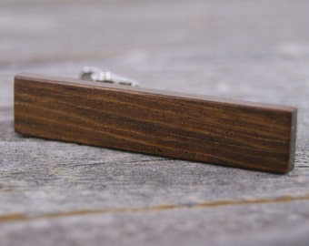 Men's Tie Clip Crafted from Desert Ironwood