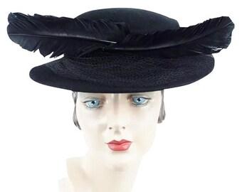 9dd4f00d86d5f 1930s Vintage Hat