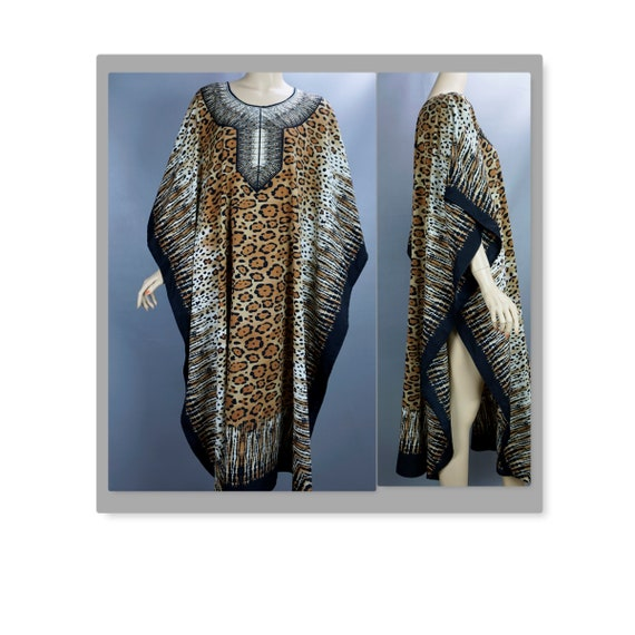 Leopard Print Caftan, Just Love One Size Caftan, A
