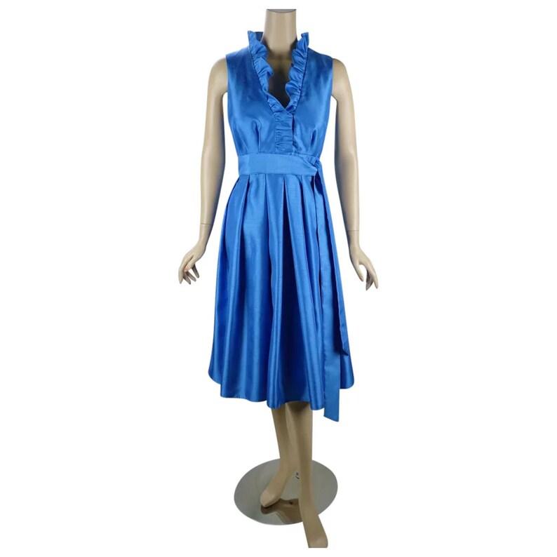9577aee8bcd83 Sky Blue Formal Dress Jessica Howard Party Dress Full Skirt   Etsy