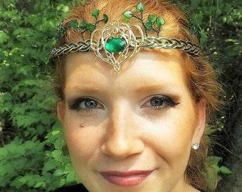 Woodland Oracle Elven Circlet Tiara