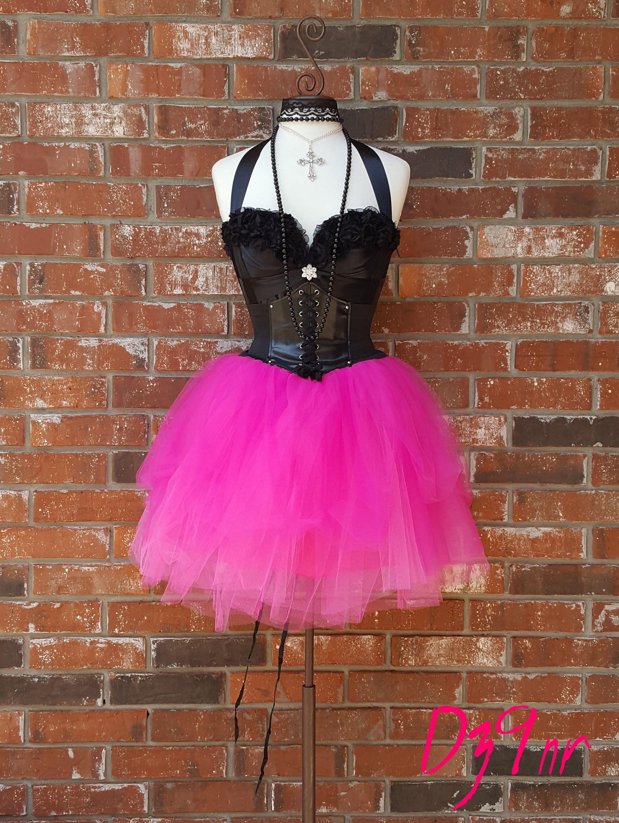Prom Skirt Full Dresses Punk Corset