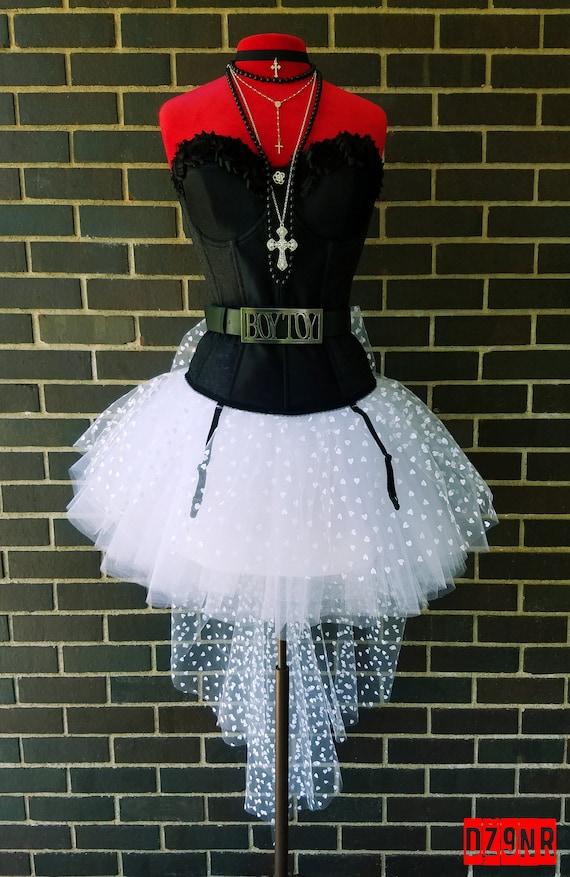 80s Prom Dress Madonna 80's Costume | Etsy
