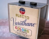 VINTAGE FLECTO PICTURE CUBE AND RADIO