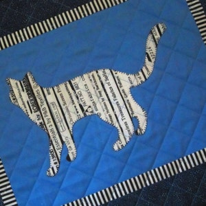 TEXAS Selvage Silhouette ORNAMENTS from Quilts by Elena Red White Blue State Outline Selvages Set of 2