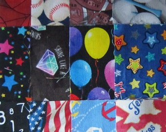 """5""""  I SPY Charm Square Pack 70 DIFFERENT Novelty Fabrics No Duplications"""