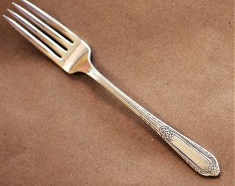 Vintage Silverplate Cotillion by Wm Rogers Flatware Silverware Silver Plate Dinner Fork