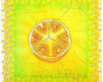 Fruit - archival BOTANICA print on ricepaper
