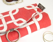 Travel Jewelry Organizer. Jewelry Display. Coral Links Jewelry Travel Roll. Earring Storage Case. Wanderlust Gifts. Travel Accessories
